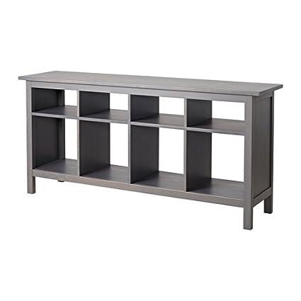 Amazoncom Ikea Console Table Dark Gray Gray Stained 61 34x15 34