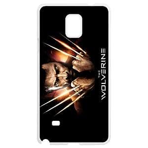 Wolverine Samsung Galaxy Note 4 White Phone Case Fashion