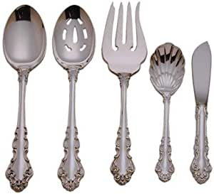 """Spanish Baroque by Reed /& Barton Sterling Silver Iced Beverage Spoons 7.25/"""""""