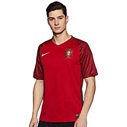 Nike Portugal Stadium EURO 2016 Maillot de supporter Homme Gym Red/Deep