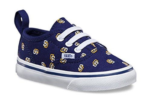Vans x MLB Authentic San Diego Padres Kids Toddler Sneakers – DiZiSports Store