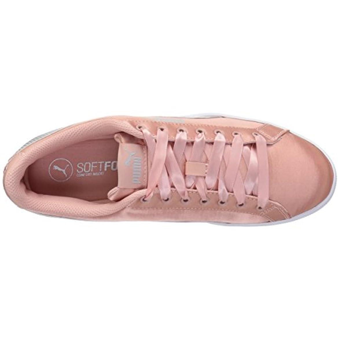 Pumapuma-366456 - Puma Vikky En Pointe Donna Rosa peach Beige-puma Silver 38 5 Eu