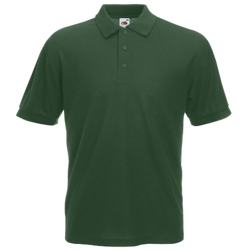 Fruit Of The Loom Premium Polo 3XL,Forest Green