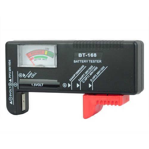 Universal Battery Checker Tester AA AAA C D 9V Button in Consumer Electronics, Multipurpose Batteries from Aymayo