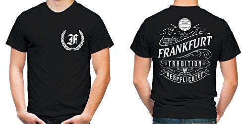 Mein leben Frankfurt T-Shirt | Freizeit | Hobby | Sport | Sprüche | Fussball | Stadt | Männer | Herren | Fan | M1 FB
