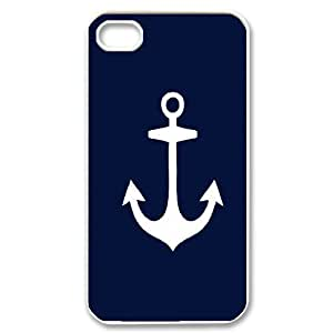 Printed Phone Case Nautical Anchor For iPhone 4,4S Q5A2113350