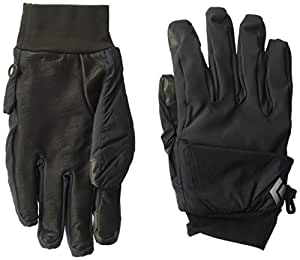 Black Diamond BD801096SMOKXL_1 Wind Hood Softshell Gloves, Smoke, X-Large