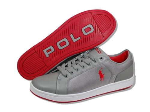 Polo Ralph Lauren Trevose Bas Chaussures En Cuir Pour Hommes (12)