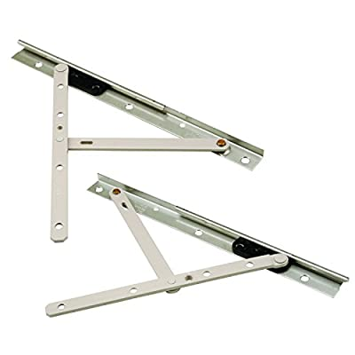 """Prime-Line Products TH 23088 Concealed Hinges, 10"""", Steel, E-Gard Corrosion Resistant Coating; Pack of 1 Pair"""