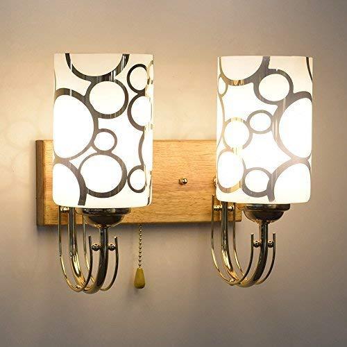 YWJWJ LED-Wandleuchte Lamp Lounge Living Room Night Table Minimalista Moderno Balcone Corridoio Scale, 23,5 * 24Cm