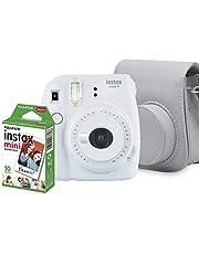 Kit Câmera Instantânea Fujifilm Instax Mini 9, Branco Gelo