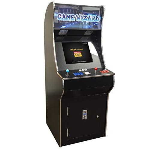 Creative Arcades Full-Size Commercial Grade Cabinet Arcade Machine | Trackball | 3500 Classic Games | 2 Sanwa Joysticks | 3-Year Warranty