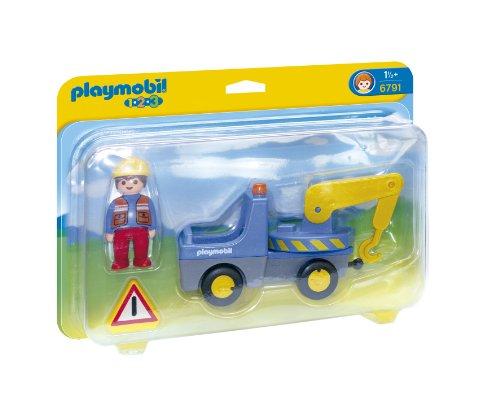 PLAYMOBIL 1.2.3 Tow Truck Playset ()