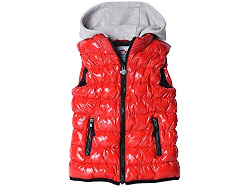 Appaman Kids Baby Boy's Apex Puffer Vest (Toddler/Little Kids/Big Kids) Prize Red