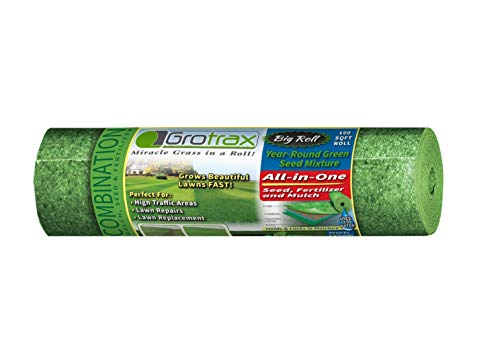Grotrax''Big Roll'' (100 Square Foot Roll) Grass Seed roll by Grotrax (Image #4)
