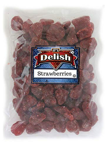 Dried Sweetened Strawberries by Its Delish, 1lb