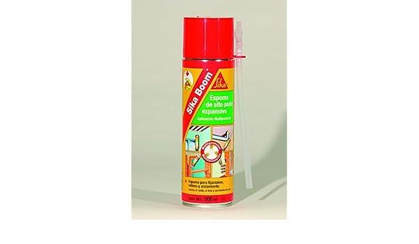 Sika sika boom - Espuma poliuretano boom arena(aerosol 500cm3): Amazon.es: Bricolaje y herramientas
