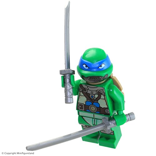 LEGO Teenage Mutant Ninja Turtles Minifigure - Leonardo (Scuba Gear) 79121