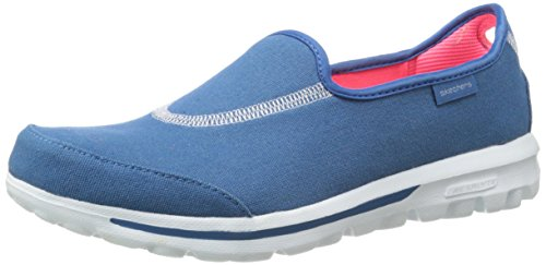 Skechers Performance Women's Go Walk Extend Slip-On Walking Shoe, Blue, 8.5 M US (Skechers Go Walk With Memory Foam)