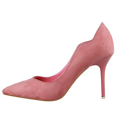 Spillo Delle Donne A Tallone Rosa Scarpe Vusum Le Alto w7qpxTH6