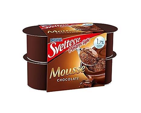 Sveltesse, Postre lácteo - 4 de 64 gr. (Total 256 gr.): Amazon.es: Alimentación y bebidas