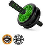 Abs Carver for Core Fitness Training :: Best Roller Wheel for Ab Workouts :: 100% Money Back Guarantee and Lifetime Warranty