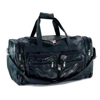 Embassy 23 1/2 inch Genuine Buffalo Leather Tote Bag