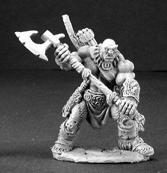 Reaper Thelgar Halfblood, Half-Orc Barbarian