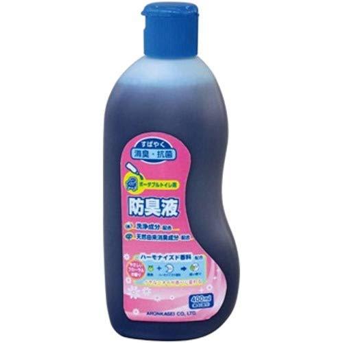 ポータブルトイレ用防臭液 ×10個セット B005NFQ4HK