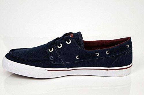 Lacoste Keel CCL Fashion Sneaker Shoe Navy/White/ Burgundy 11 JitU1wJ