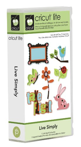 Cricut Live Simply Cartridge for Cricut - Cartridge Cricut Animal