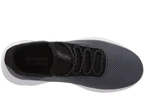 [SKECHERS(スケッチャーズ)] メンズスニーカー?ランニングシューズ?靴 Go Walk Evolution Ultra Initiate Black/White 8.5 (26.5cm) D - Medium