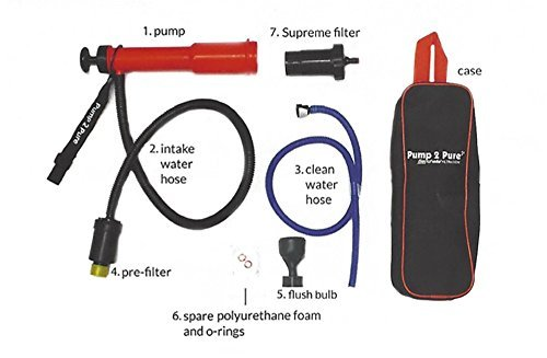 Seychelle Pump 2 Pure Kit With Dual Supreme Filtration