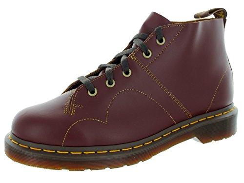Dr. Martens Men's Church Vintage Smooth Chukka Boot, Oxblood, 10 UK/11 M US (Church Monkey Boot)