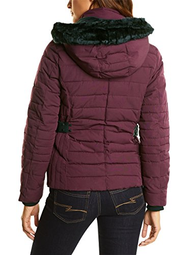Giacca Fur Padded sportive One Ojp With Jacket Violett Donna Street 21018 Fake master Wine 081qW1