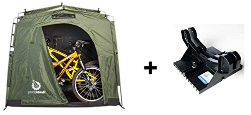 EZ Bike Stand and YardStash III Bike Storage Bundle Review