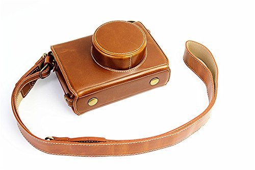 X100 Case, BolinUS Handmade PU Leather FullBody Camera Case