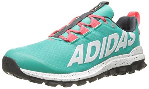 adidas Performance Women's Vigor 6 Women's Trail Running Shoe,Shock Mint/White/Shock Red,9.5 M US