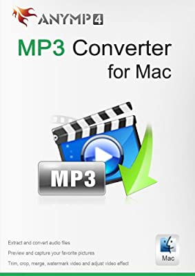 AnyMp4 MP3 Converter for Mac 1 Year License - best software to convert video and audio formats to MP3/AAC/AIFF/ALAC/WAV/M4A on Mac [Download]