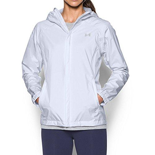 - Under Armour Women's UA Bora Jacket, White (100)/Glacier Gray, Medium