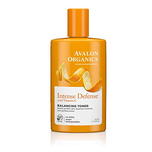Avalon Organics Intense Defense Balancing Toner, 8.5 oz.