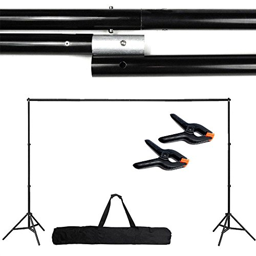 Stand Photo Backdrop Adjustable 10Ft Background Support Backdrop Crossbar Kit Photography (Halloween Props Clearance Uk)