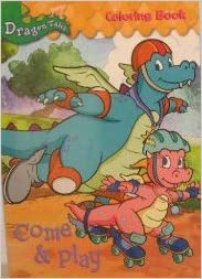 Dragon Tales: Come & Play Coloring Book ~96 pages: Amazon.com: Books