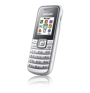 """Samsung Gt E1050 - Móvil libre (pantalla de 1,43"""" 128 x 128, 64 MB de capacidad) color plata"""