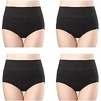 wirarpa Womens Cotton Underwear High Waist Briefs Postpartum Multipack S-XXXL