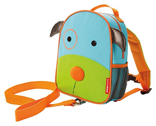Price comparison product image Skip Hop Zoo Little Kid and Toddler Safety Harness Backpack, Darby Dog