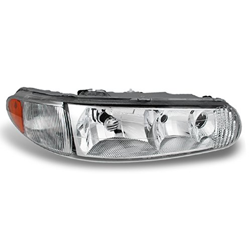 For 1997 1998 1999 2001 2002 2003 2004 05 Buick Century | Regal Passenger Right Side Headlight Headlamp