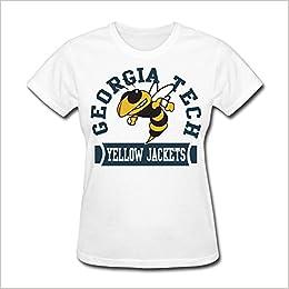 CXY Women s NCAA Ga Georgia Tech Yellow Jackets Teams Logo T-Shirt  Apparel   Apparel 1a35a325a