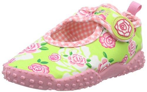 Playshoes UV-Schutz Badeschuhe Rosen - aqua zapatos, color Pink, talla 18/19