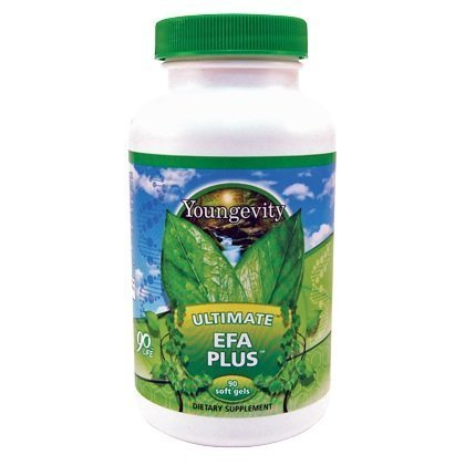 International Shipping  90 Softgels Ultimate Efa Plus Youngevity Omega 3 6 9 Fish Oil Supplement Dr Wallach By Youngevity